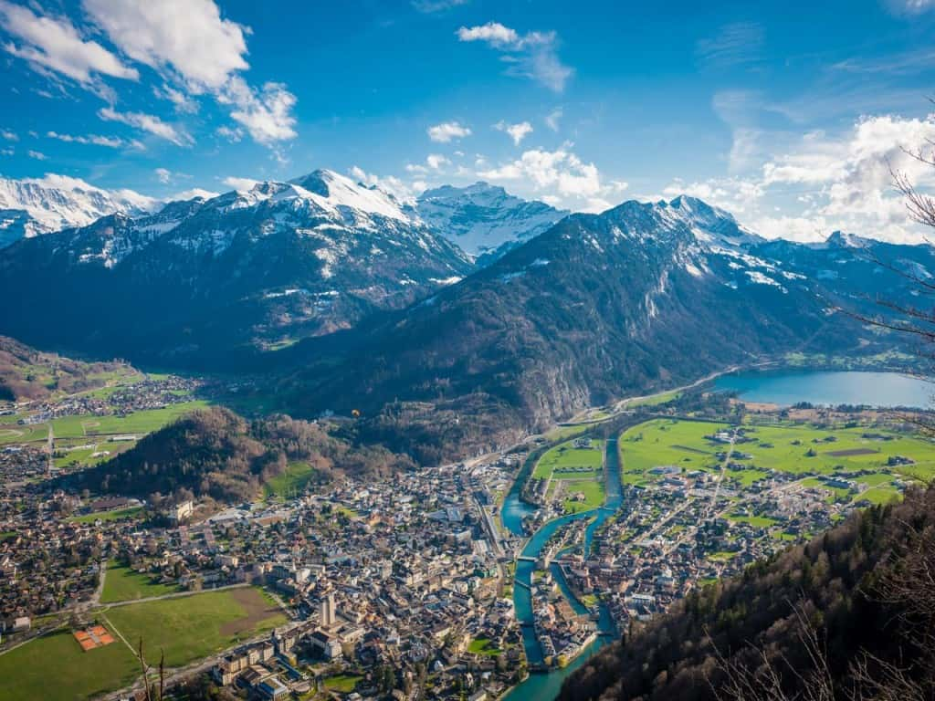Interlaken im Sommer