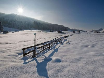 Appenzellerland im Winter