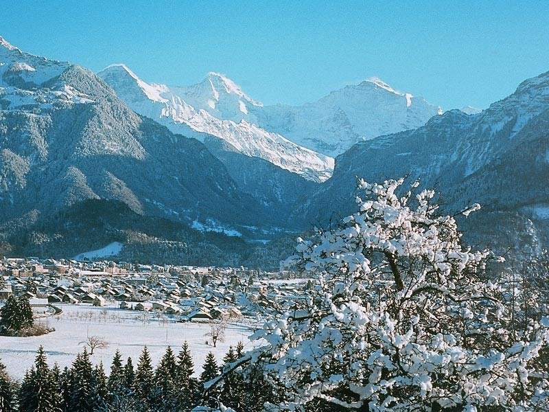 Interlaken im Winter