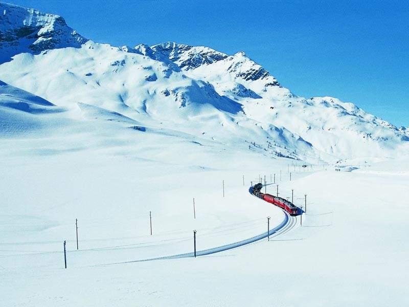 Bernina Express – Alpenüberquerung das ganze Jahr
