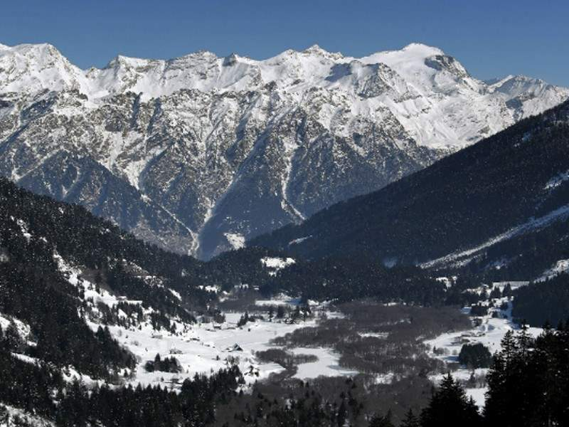 Campra im Tessin - über 30 km Langlauf Loipen