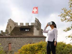 Ausflug: Schloss Habsburg: Burg, Ruine und virtueller Rundflug