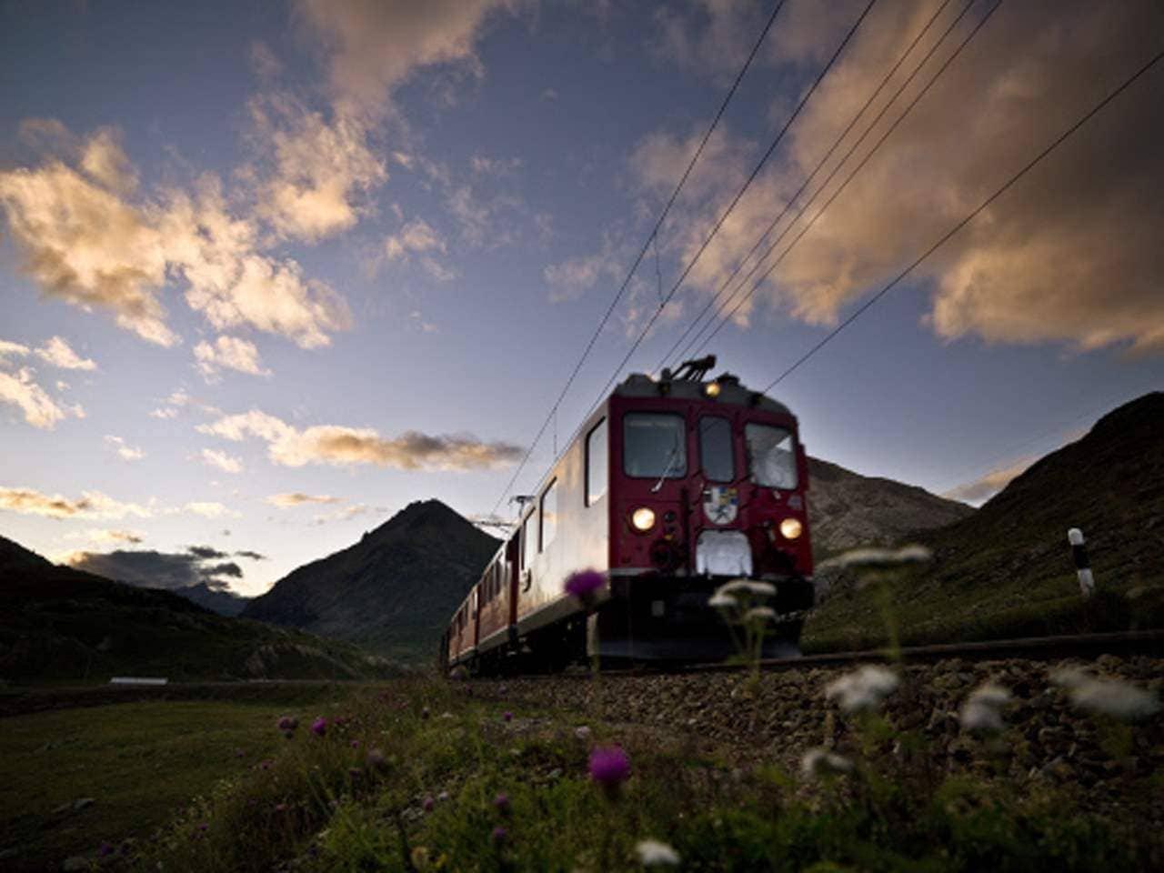 Ausflug: Wandern auf der Via Albula/Bernina – Entlang dem UNESCO Welterbe