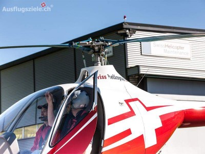 Selber Helikopterpilot sein mit Swiss Helicopter!