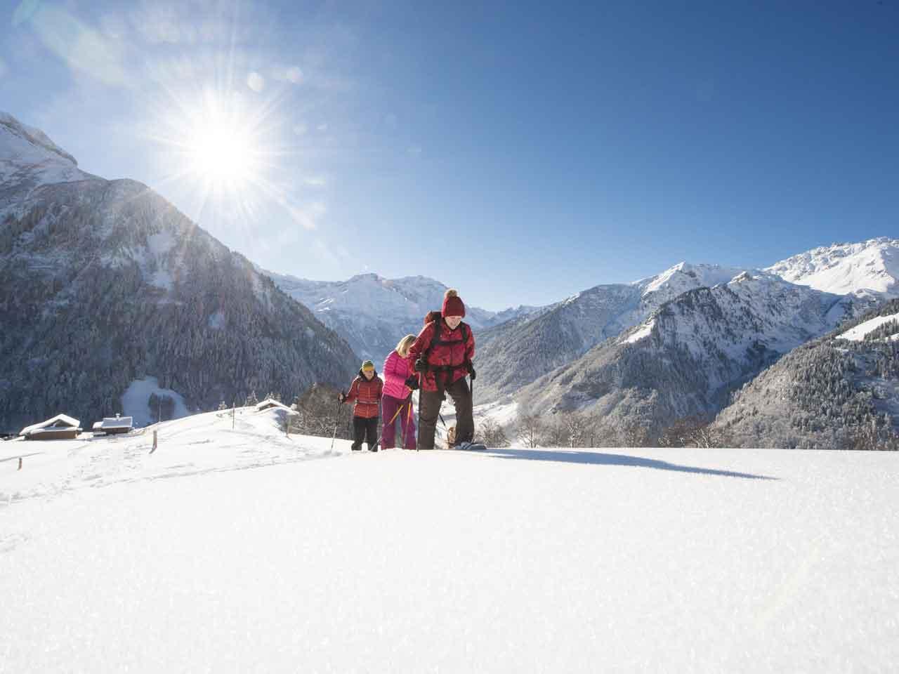 Winterwandern Elm Ferienregion