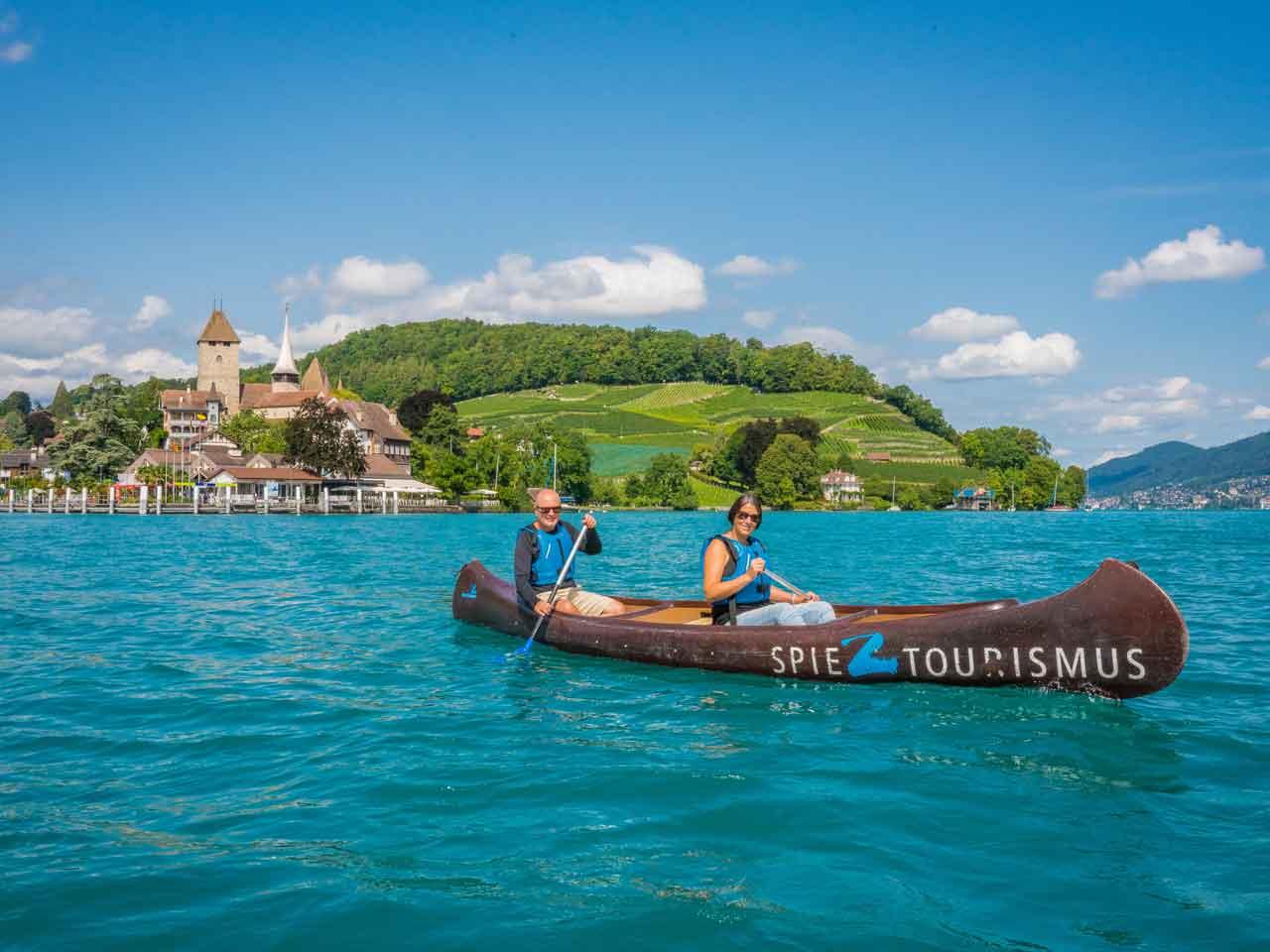 Kanuweg Thunersee – aktive Erholung für jedermann