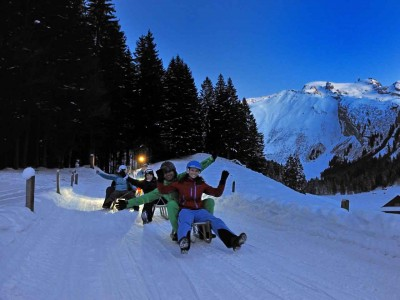 Action und Funsport im Winter