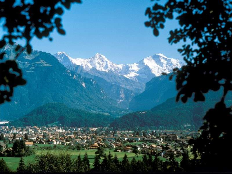 Region Jungfrau im Sommer