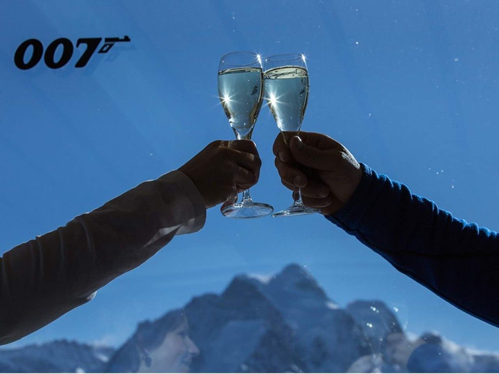 Schilthorn Piz Gloria  mit James Bond 007 Brunch – für Paare