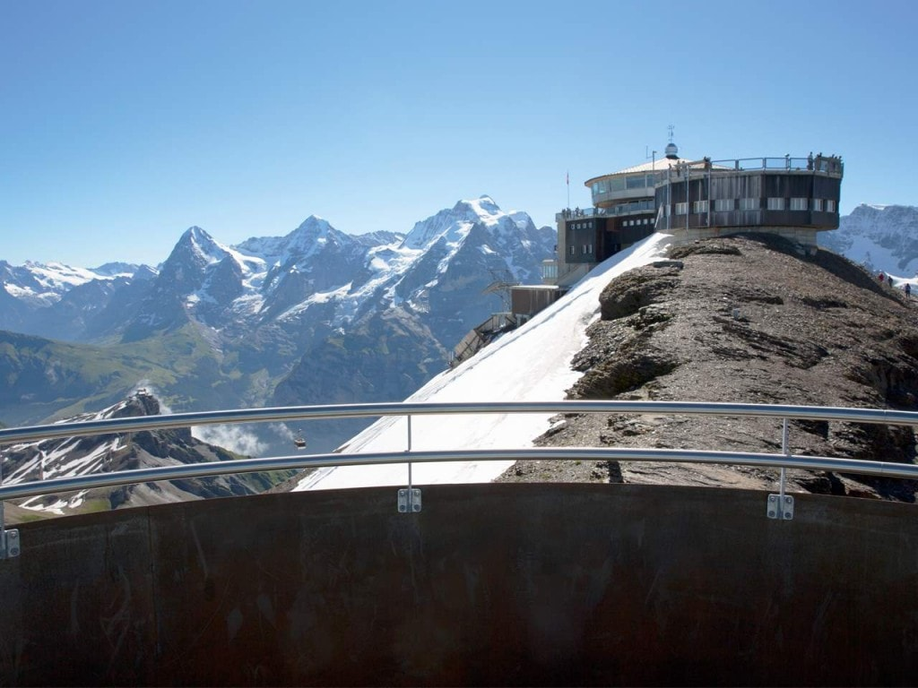 Schilthorn Piz Gloria  mit James Bond 007 Brunch