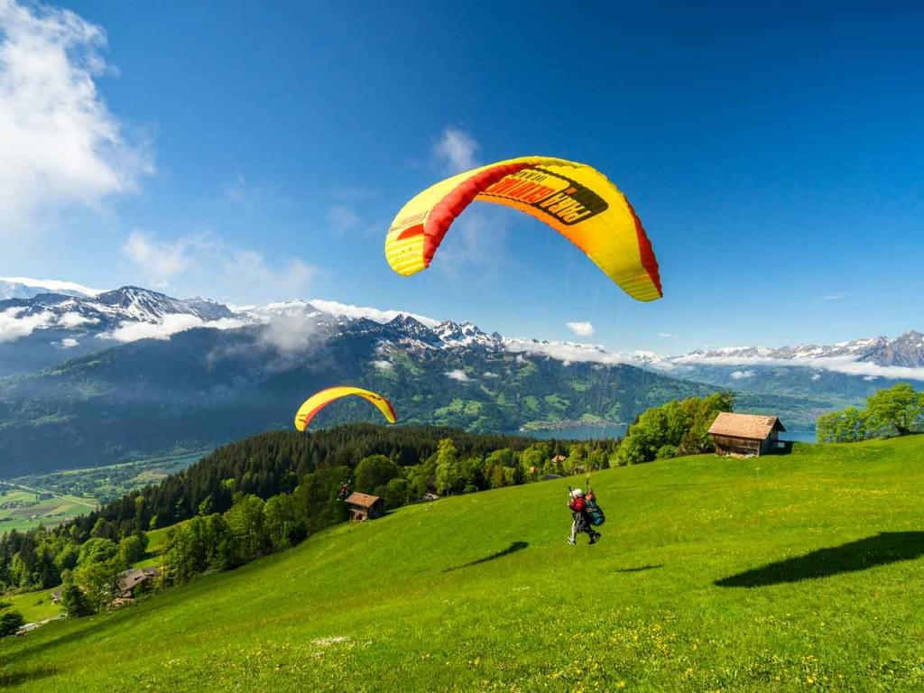 Paragliding BIG BLUE: Beatenberg – Interlaken