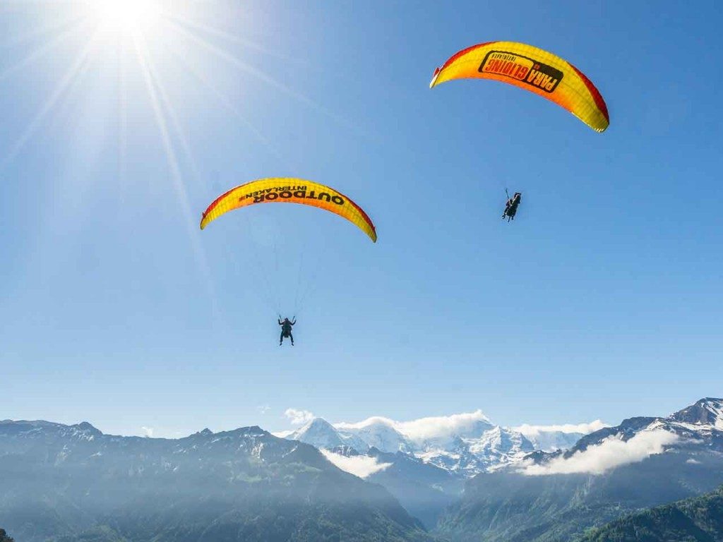 Paragliding – Double Air Time