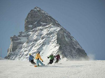 Wallis - Höchstgelegenes Skigebiet der Alpen – Matterhorn ski paradise