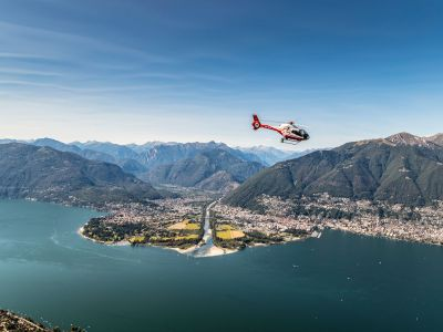 Swiss Helicopter:  - Helikopter Rundflug James Bond