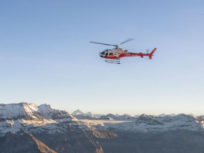 Swiss Helicopter:  - Helikopter Rundflug: Grand Canyon der Schweiz