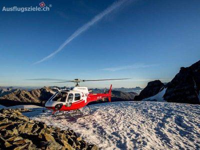 Swiss Helicopter Ausflüge: : Bernina Bergmassiv – Gletscherflug