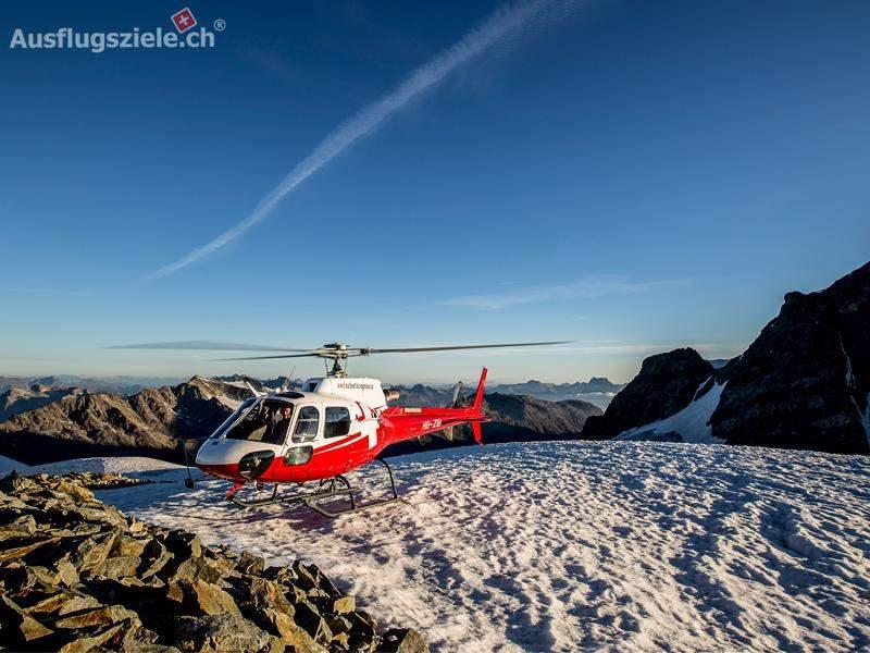 Bernina Bergmassiv – Gletscherflug