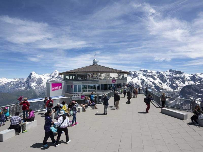 James Bond Brunch auf dem Schilthorn