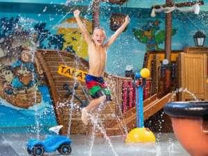 Ausflug: Kinderbereich im Bernaqua Erlebnisbad