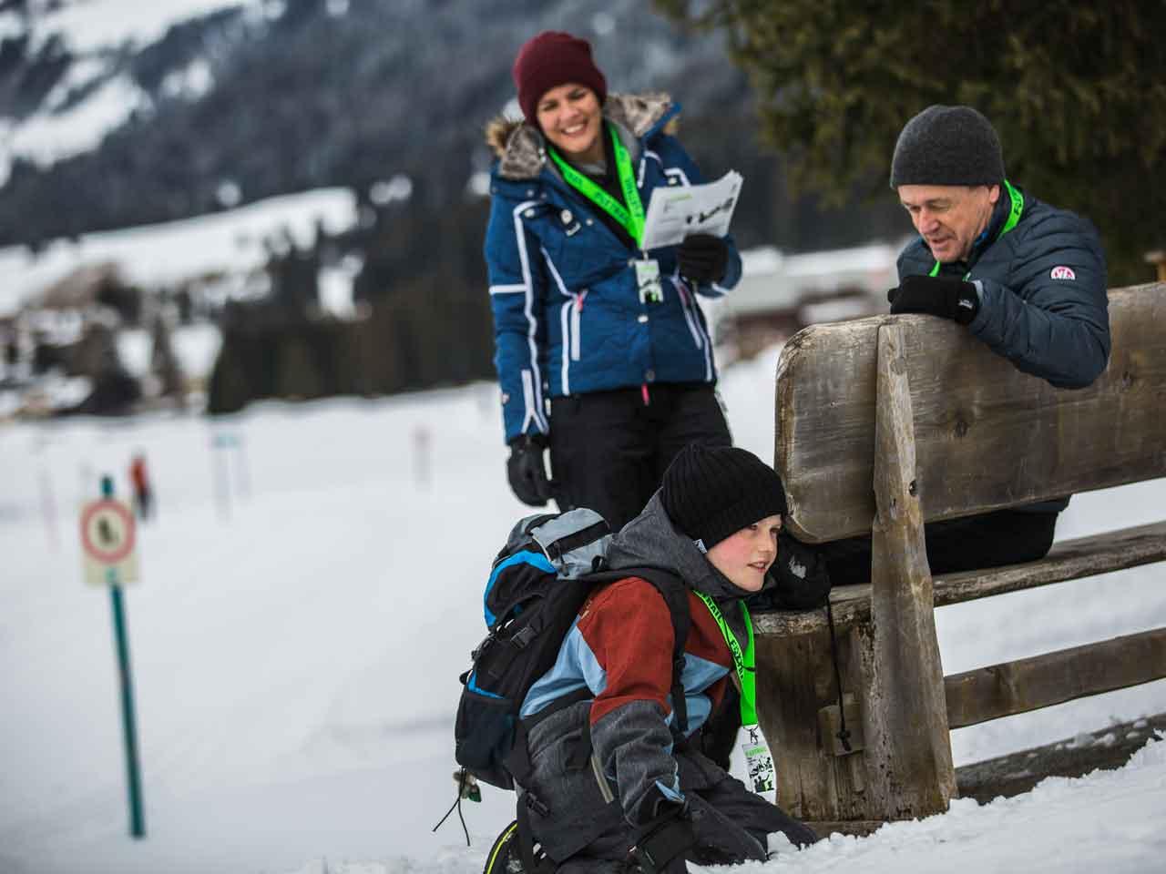 Ausflug: Spannende Schnitzeljagd im Winter – Foxtrail