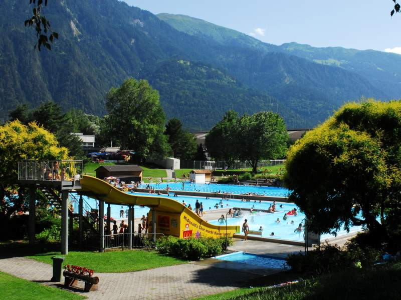 Freibad Obere Au in Chur
