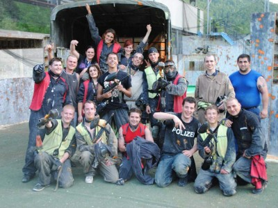 Paintball Arena – Indoor und Outdoor