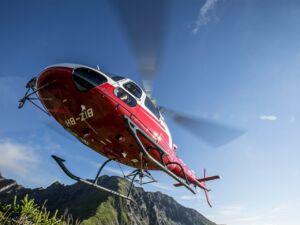 "Helikopterflug mit ""Bure Zmorge"" und Panoramablick"