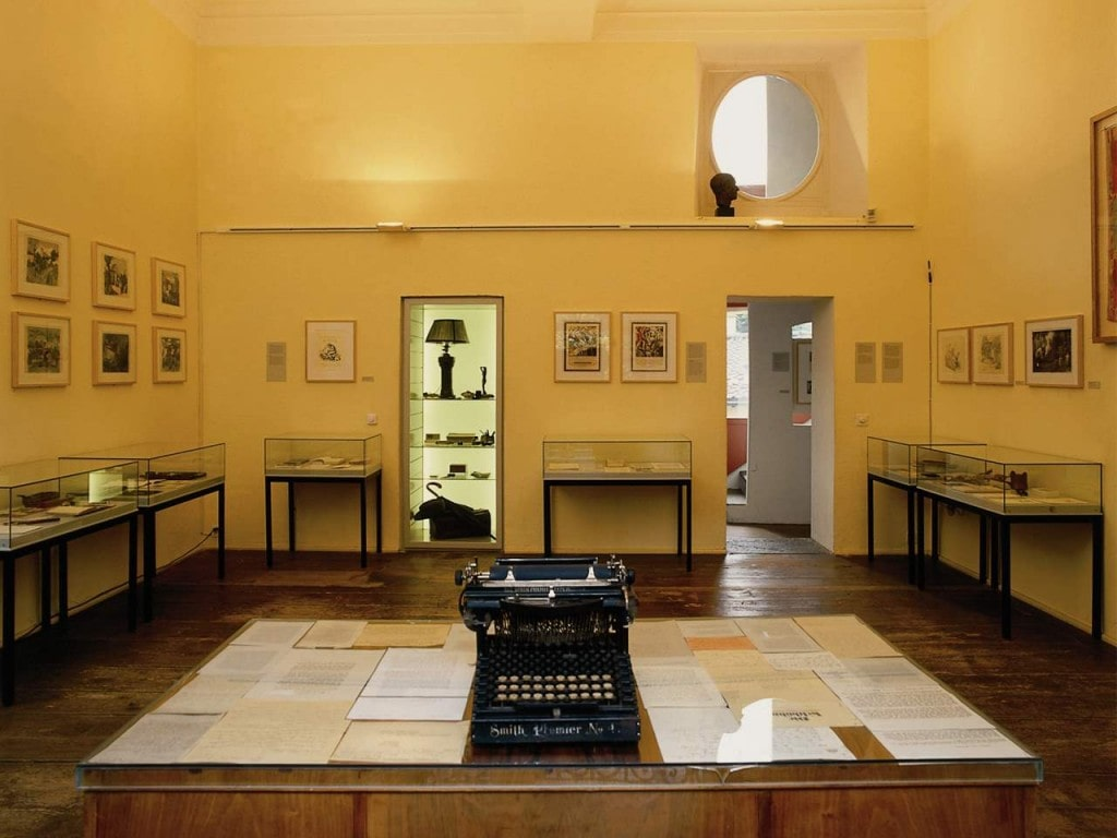 Museum Hermann Hesse in Montagnola im Winter