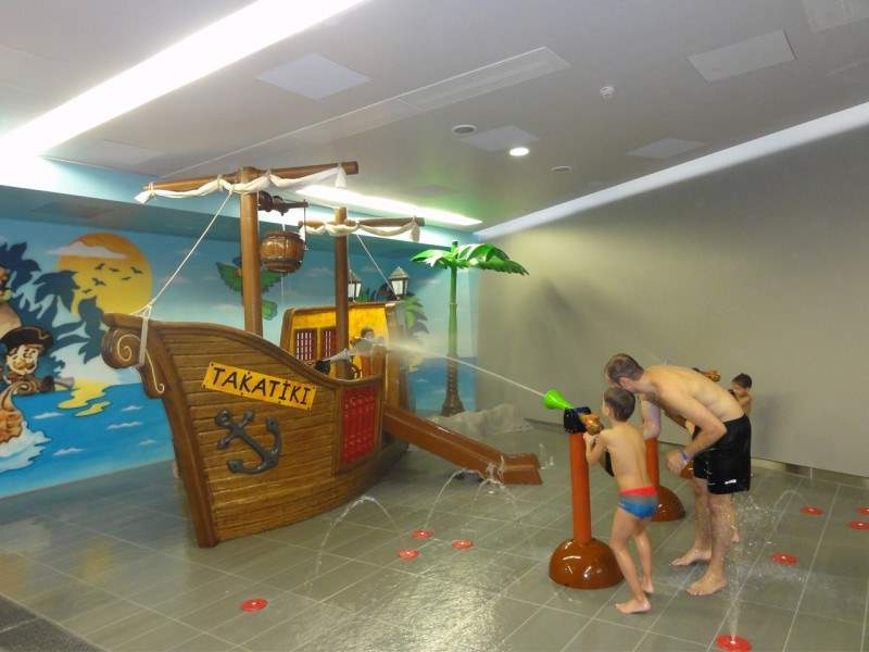 Kinderbereich im Bernaqua Erlebnisbad