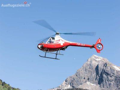 Geschenkgutschein:  - Selber Helikopterpilot sein – ab Helibasis!