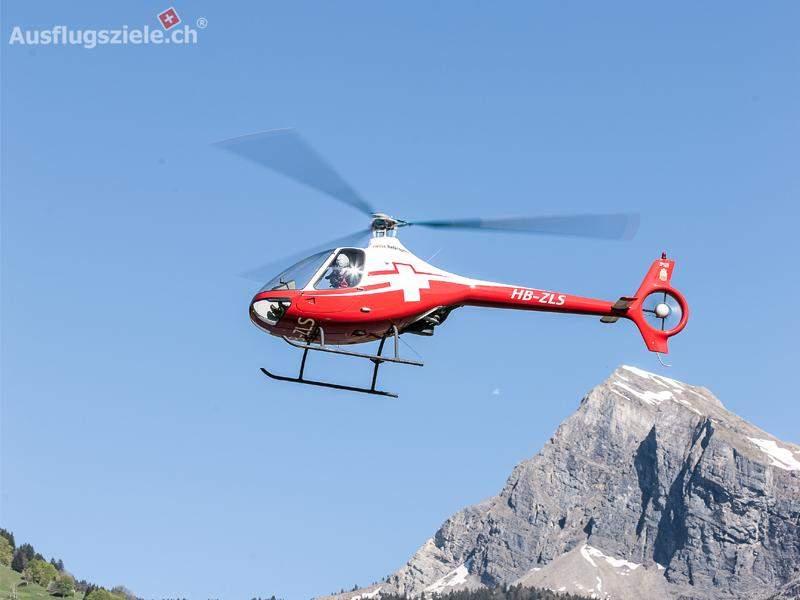 Selber Helikopterpilot sein – ab Helibasis!
