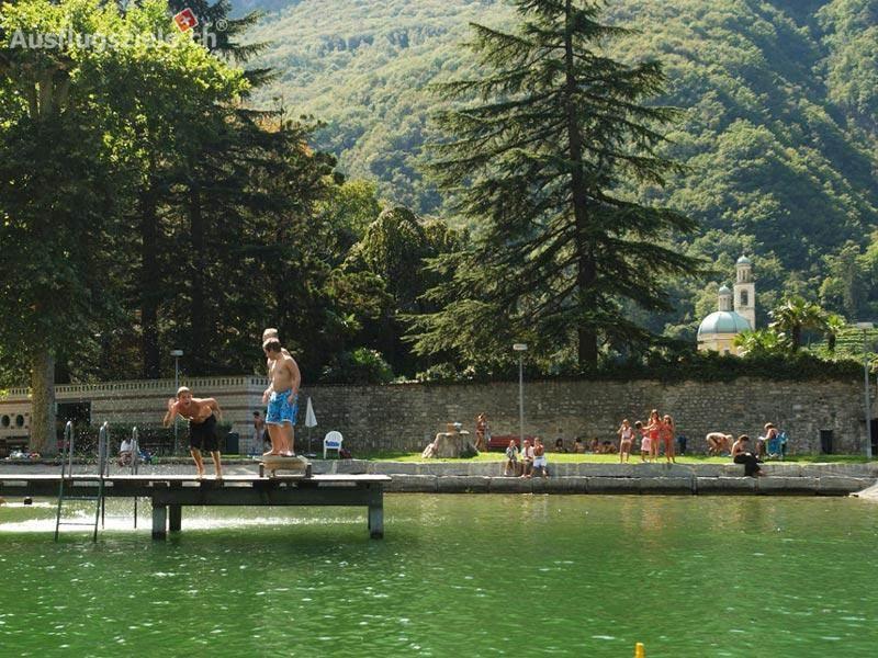 Lido Riva San Vitale – am Zipfel des Luganersees