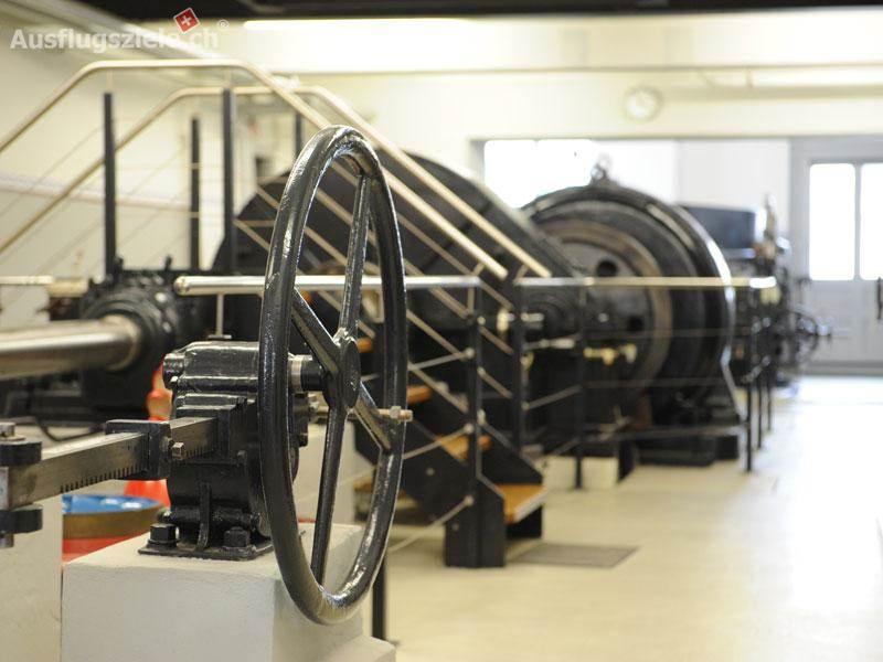 Erlebnisort Kraftwerksmuseum im Winter