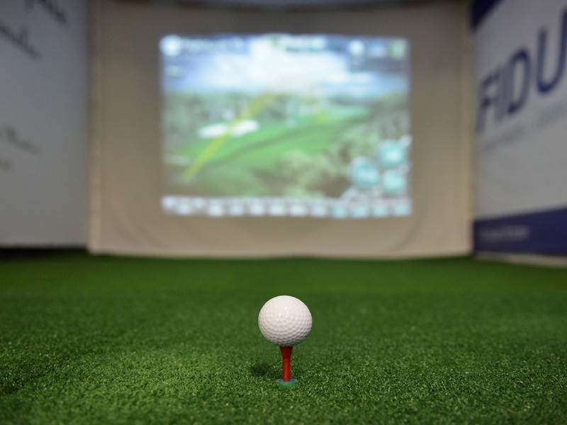 Indoor-Golf in Moutier