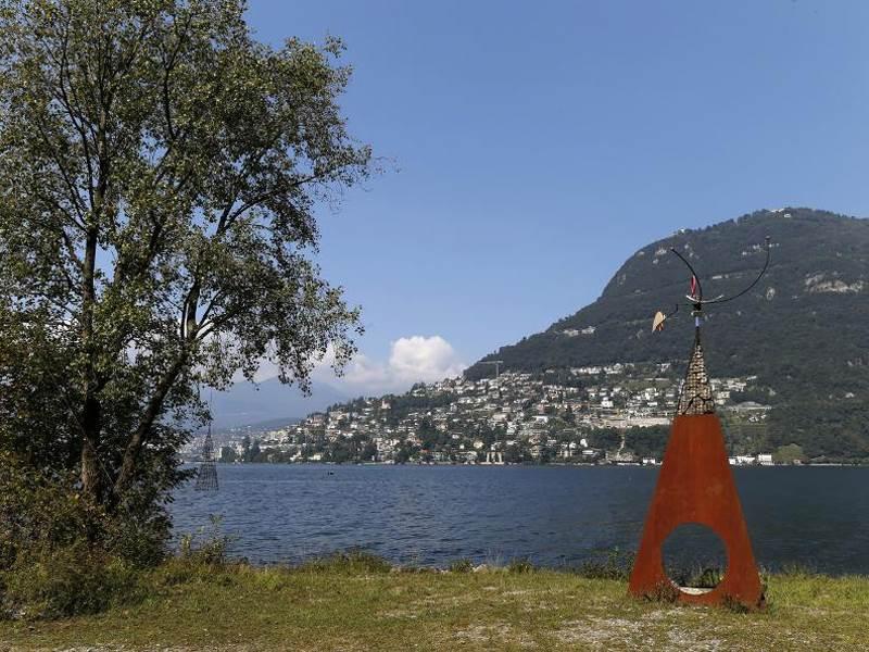 Spaziergang dem Luganersee entlang – von Caprino nach Gandria