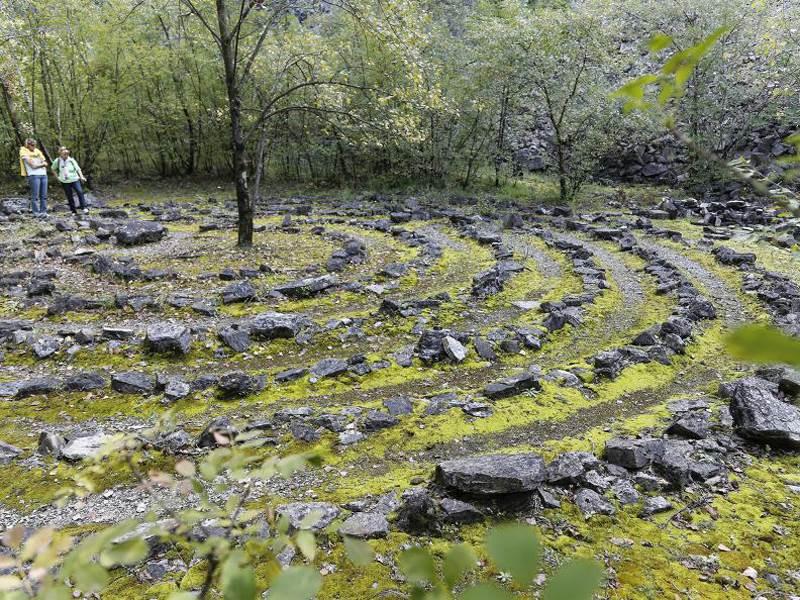 Von Caprino nach Gandria dem Luganer See entlang
