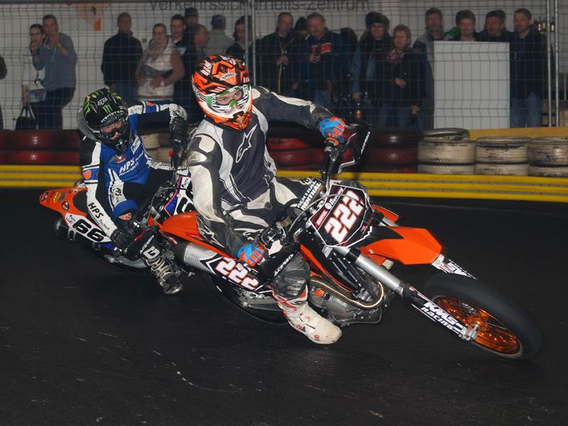 FM Supermoto für Jedermann – Winter-Indoor Töff Event