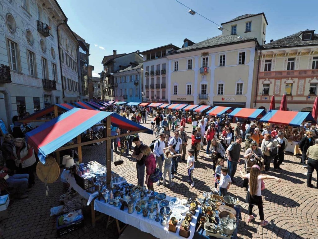 Samstagsmarkt in Bellinzona – der Duft des Südens
