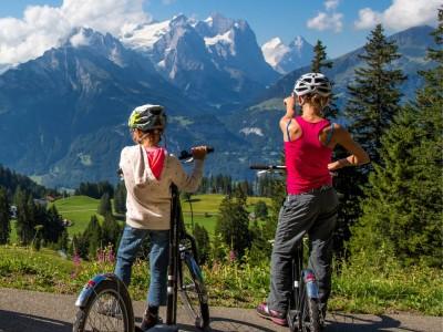 Mikrokosmos Jungfrau - Hasliberg – Trotti Bike für die ganze Familie
