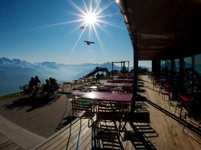 : Berner Oberland - Sonntags-Brunch auf dem Niederhorn