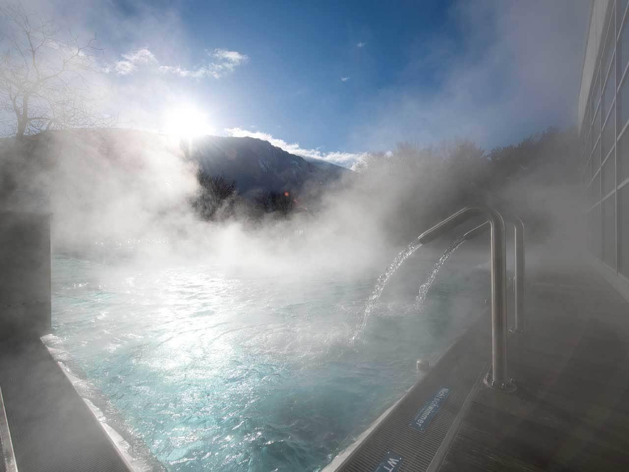 Aquamarin – Warmwasser-Erlebnisbad in Chur