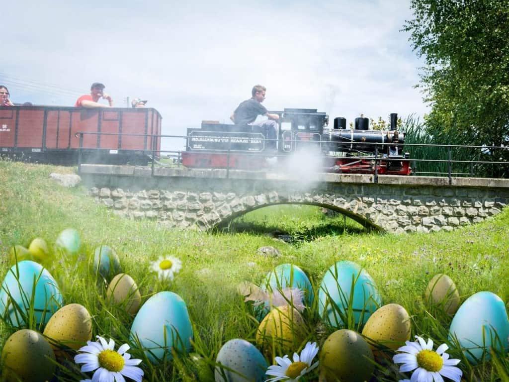 Ostern im Swiss Vapeur Parc