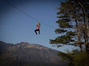Ausflug: Flying Fox Parcours
