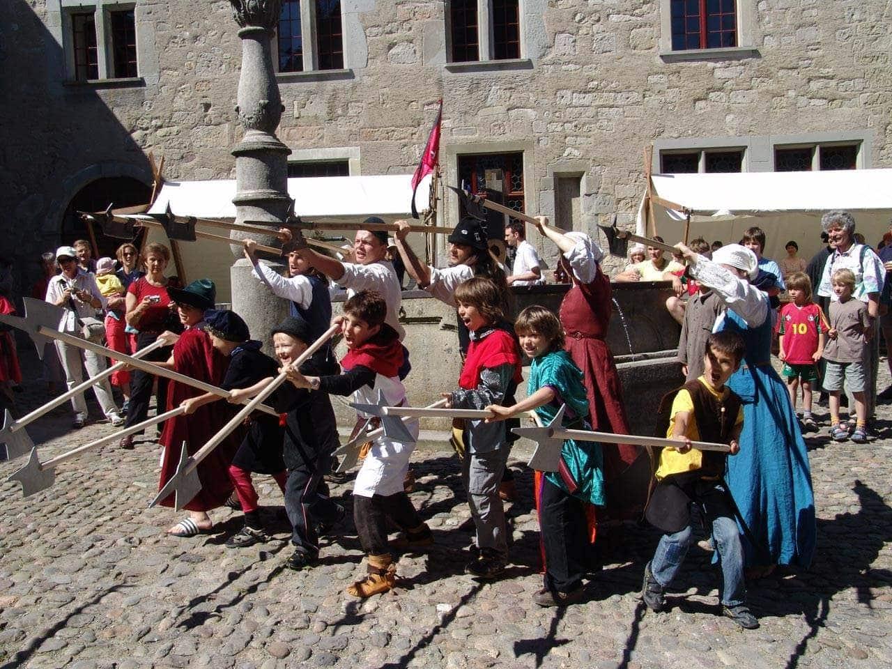 Schloss Kyburg: das Burgmuseum