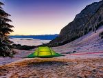 Schwebende Tree Tents am Pilatus