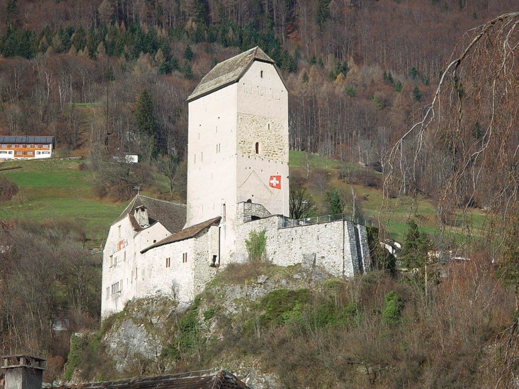 Schloss Sargans – mit 900jährigem Turm