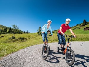Fideriser Heuberge: Bikeboard/Trottiplausch – 12 km ins Tal