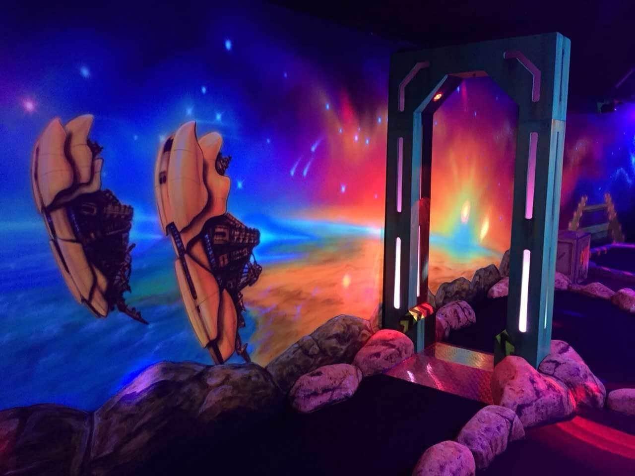 4D Minigolf Aarau – Minigolf ganz anders