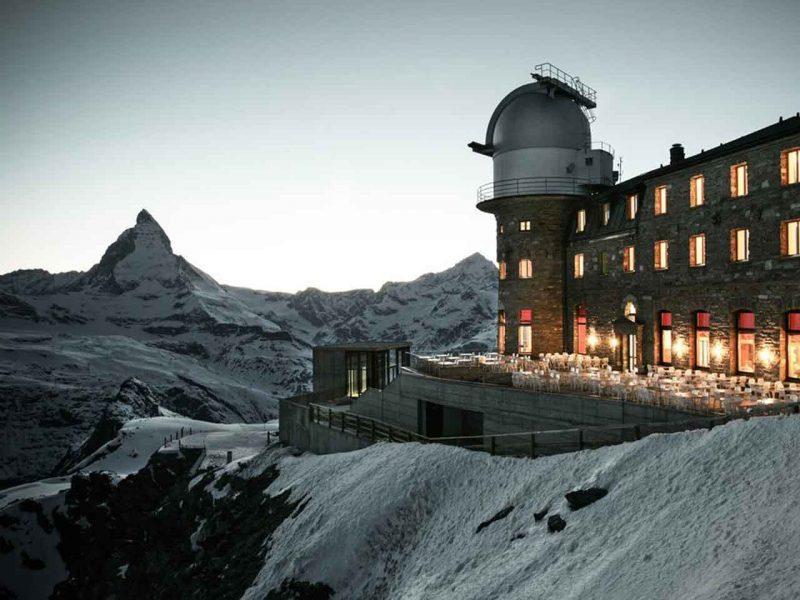 Zwei berühmte Gipfel. Peak2Peak. November bis April