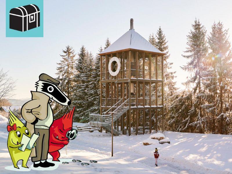 Detektiv-Trails Winter